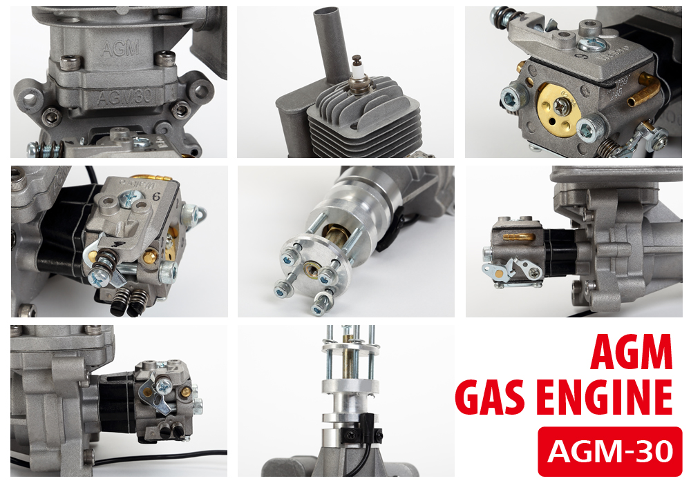 AGM30 30cc gasoline engine overview