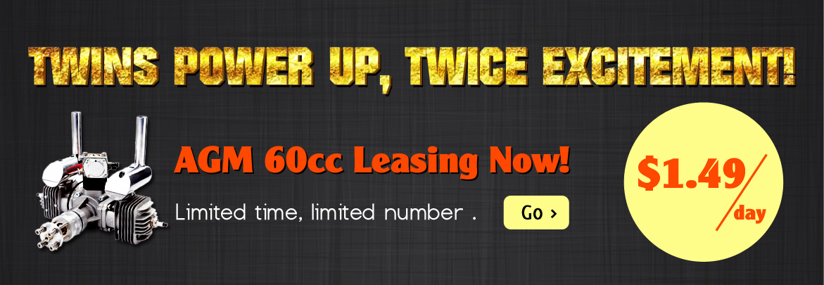 60cc small gasoline engine leasing for $1.49 per day