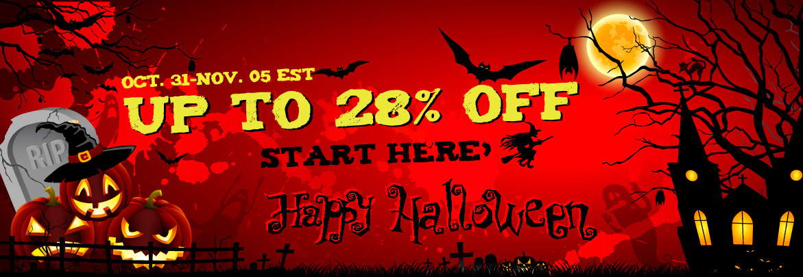 Happy halloween sale