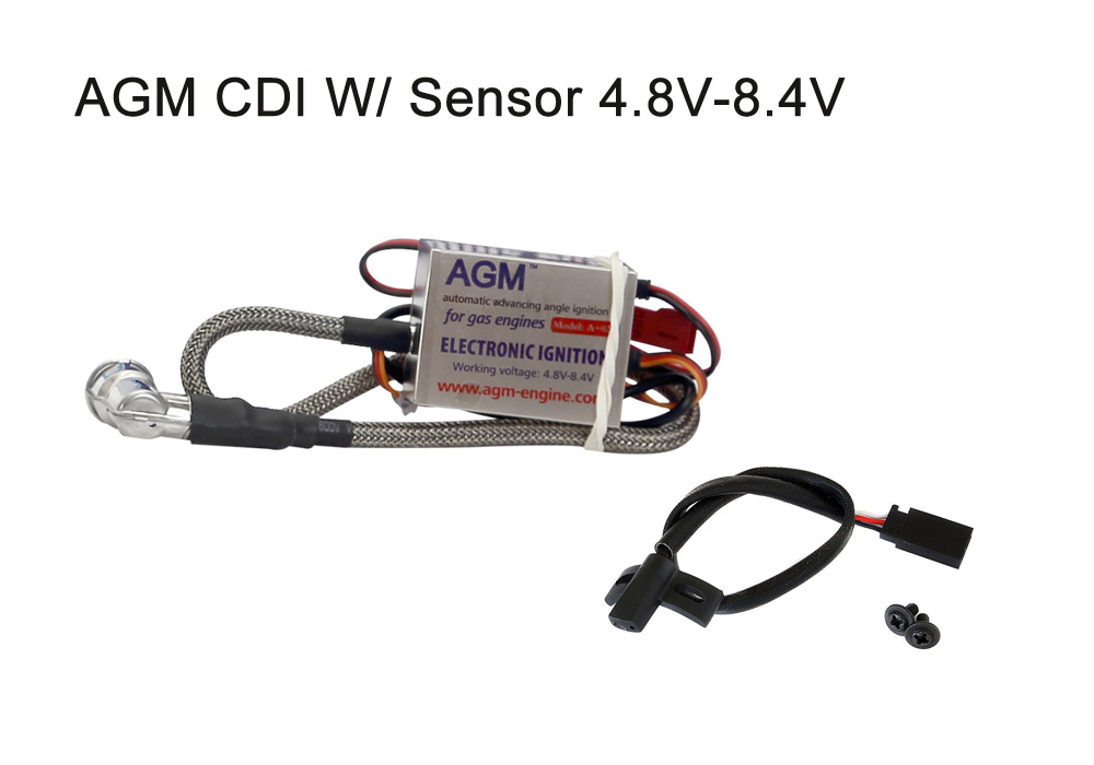 CD Ignition System for AGM 30cc Gasoline Engine + Sensor Replace