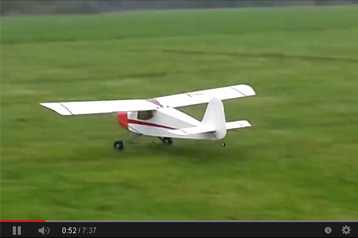 Precedent T240 Smooth Flying with AGM 30cc Gasoline Engine